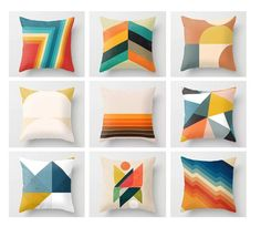 Brown Throw Pillows, Colorful Throw Pillows, Blue Pillows, Blue Pillow Covers, Throw Pillow Cases, Bird Pillow, Flower Pillow, Geometric Pillow, Decorative Cushions