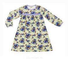 Сшить прямое детское кружевное платье