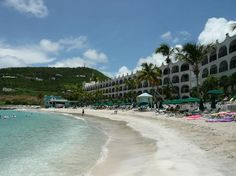 Couldn't ask for a closer or nicer beach.  Little Bay beach in front of Belair Beach Hotel Philipsburg St. Maarten