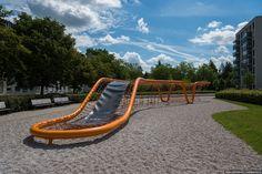 Детские площадки в новых районах Мюнхена. Хотели бы здесь играть? – Варламов.ру