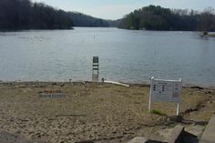 Lake Malone Beach, but it closed due to winter. This is in Kentucky