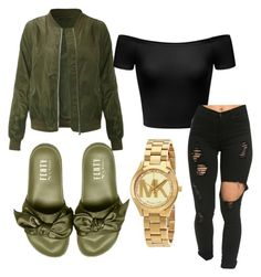 """""""~fenty contest~"""" by qveenmm on Polyvore featuring Michael Kors"""