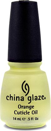China Glaze Orange Cuticle Oil - light, refreshing and nourishing oil that penetrates dry, damaged cuticles