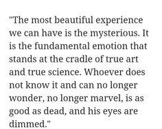 --Albert Einstein