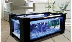 Aquarium Fish Tank Coffee Table