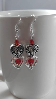 Check out this item in my Etsy shop https://www.etsy.com/listing/571207882/heart-earrings-valentines-day-earrings