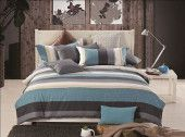 Single/Double/Queen/King Bed 100% Cotton Quilt/Doona/Duvet Cover Set-Reverie
