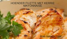 VLEIS - HOENDER Chicken Fillet Recipes, Easy Eat, South African Recipes, Camping Meals, Appetizers, Healthy Recipes, Dishes, Dining, Food Ideas