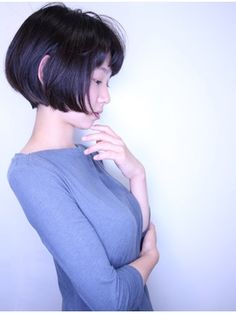 【morio原宿】カジュアルでかわいいラウンドグラデーション♪:L029774787|モリオ 原宿本店(morio from London)のヘアカタログ|ホットペッパービューティー Girl Short Hair, Short Hair Cuts, Short Hair Styles, Pretty Asian, Photos Of Women, Pixie Haircut, Girl Face, Hair Dos, Female Bodies