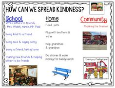 2 Scoops of Kindergarten: How to Spread Kindness ~ Problem Based Learning