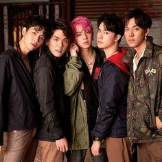 Chi Cheng, Asian Man Haircut, 2moons The Series, 2 Moons, Love Sick, Thai Drama, Haircuts For Men, Asian Men, Pop Group
