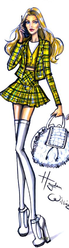CHER HOROWITZ BY HAYDEN WILLIAMS
