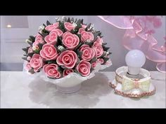 Nylon Flowers, Diy Flowers, Paper Flowers, Flower Lights, Easter Eggs, Diy And Crafts, Recycling, Make It Yourself, Youtube