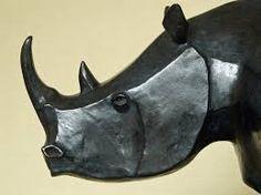 """Résultat de recherche d'images pour """"rhino sculpture"""""""