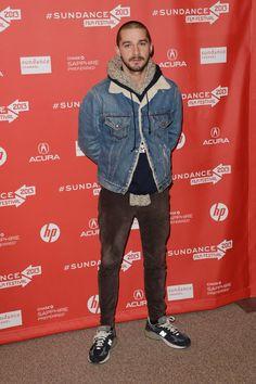 """The Necessary Death Of Charlie Countryman"" Premiere - Arrivals - 2013 Sundance Film Festival    Shia LaBeouf"