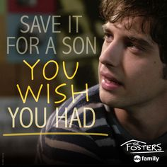 Yikes... | The Fosters Quotes  #TheFosters #3X06 #7/13/15