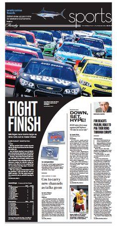 Sports, Aug. 15, 2013.