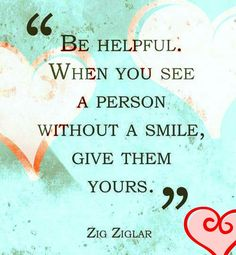 True. Help to glow others from all sorts of life. Rich, poor, color and age. Are you perfect. Smh
