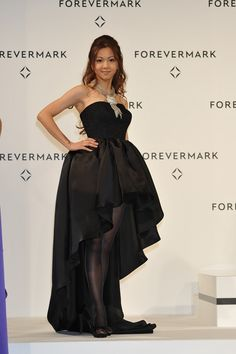 Strapless Dress Formal, Formal Dresses, Asian Celebrities, Singer, Womens Fashion, Beauty, Japanese, Dresses For Formal, Formal Gowns