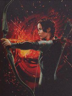 Katniss Everdeen - Catching Fire promo - Embedded image permalink