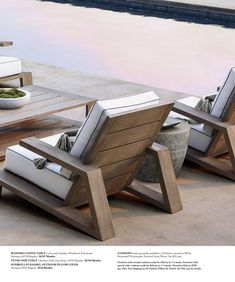 Interesting Outdoor Furniture Design — Home Design Ideas Concrete Outdoor Furniture, Outdoor Furniture Covers, Outdoor Furniture Design, Diy Furniture Plans, Teak Furniture, Patio Furniture Sets, Outside Furniture, Furniture Layout, Furniture Sale