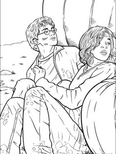 harry potter coloring picture  harry potter coloring