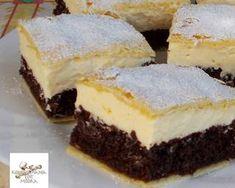 Nevesincs krémes | Edit56 receptje - Cookpad receptek Hungarian Recipes, Cookie Bars, Bar Cookies, Dessert Bars, Nutella, Cake Recipes, Cheesecake, Paleo, Food And Drink