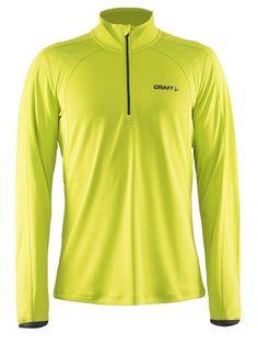 Craft Bluza do biegania Facile Pullover yellow   MALL.PL