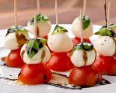 Mini tomates mozza et son vinaire balsamique : http://www.fourchette-et-bikini.fr/recettes/recettes-minceur/mini-tomates-mozza-et-son-vinaire-balsamique.html