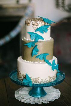 Tortas para Bodas con Mariposas 9