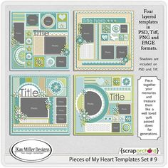 Pieces Of My Heart-9 by Kay Miller Designs