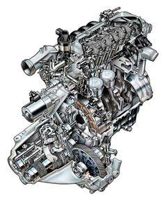 Insight-IMA-cutaway-engine