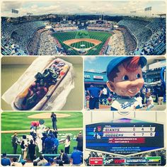 Dodgers win!! Another great opening day!!! #gododgers #openingday #giantsstillsuck
