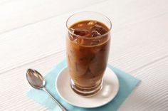 Iced Coffee Recipe - Kraft Recipes | What You Need: 3 cups  brewed strong French Roast coffee or substitute your favorite coffee; 6 Tbsp  sugar; 6 Tbsp half-and-half | Make It: POUR coffee into heatproof pitcher. Add remaining ingredients; stir until sugar is dissolved. REFRIGERATE several hours or until chilled. SERVE over ice.