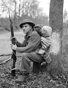 A Canadian soldier during the battle of Arnhem September 1944