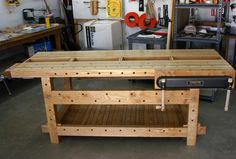 21st Century Workbench - by HorizontalMike @ LumberJocks.com ~ woodworking community