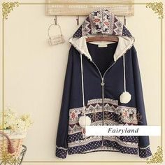 Buy 'Fairyland – Nordic Print Zip Hoodie' with Free International Shipping at YesStyle.com. Browse and shop for thousands of Asian fashion items from China and more!