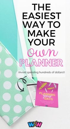 diy planner - how to make diy planner - diy planner binder - diy planner ideas - diy planner from scratch - how to make your own planner - how to make your own planner free Free Planner, Happy Planner, Printable Planner, Free Printables, Planner Diy, Binder Planner, Year Planner, Custom Planner, Budget Binder
