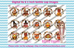 1' Bottle caps (4x6) Digital Thanksgiving Autumn A42  THANKSGIVING BOTTLE CAP IMAGES  #THANKSGIVING #bottlecapimages #bottlecap #BCI #shrinkydinkimages #bowcenters #hairbows #bowmaking #ironon #printables #printyourself #digitaltransfer #doityourself #transfer #ribbongraphics #ribbon #shirtprint #tshirt #digitalart #diy #digital #graphicdesign please purchase via link  http://craftinheavenboutique.com/index.php?main_page=index&cPath=323_533_42_83