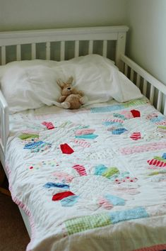 Heather's baby dresden quilt...the cutest thing!
