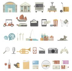 PayPal Illustrations by Javier Lim, via Behance