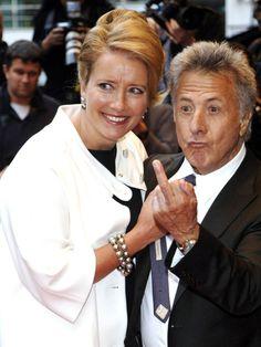 Little Dustin Hoffman pointing the finger.