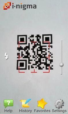 i-nigma QR & Barcode Scanner- screenshot
