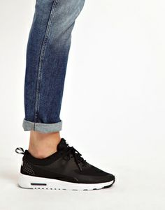 Nike Air Max Thea Black Trainers