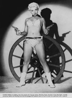 Candy Barr's Pictorial list