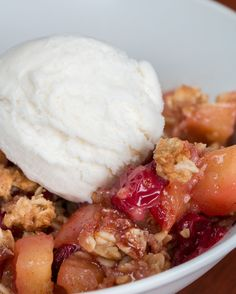 Cran-Apple Crisp