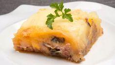 Receta de Pastel de carne, berenjena y patata