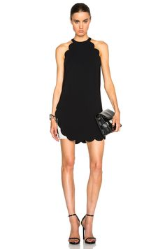 Image 1 of A.L.C. Alexis Dress in Black & White