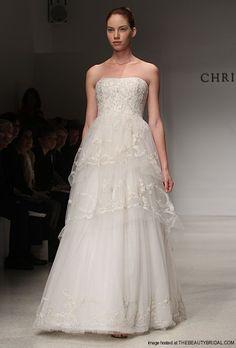 Christos Fall 2012 Wedding Dress. Style Olivia