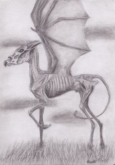 Harry Potter - Thestral by The-Timekeeper.deviantart.com on @DeviantArt